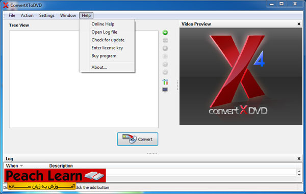 06 معرفی و آموزش استفاده از نرم افزار ConvertXtoDVD