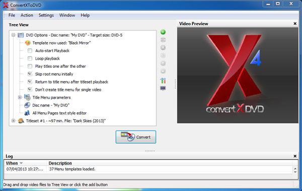 09 معرفی و آموزش استفاده از نرم افزار ConvertXtoDVD