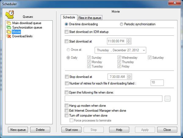 21 آموزش استفاده از نرم افزار Internet Download Manager