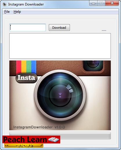 01 آموزش دانلود عکس های اینستاگرام Instagram
