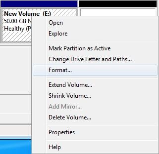 10 آموزش پارتشین بندی در ویندوز 7 بدون نیاز به نرم افزار