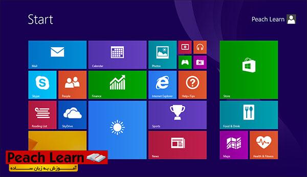 20 معرفی و آموزش نصب ویندوز Windows 8